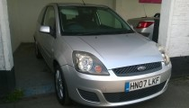 Ford Fiesta 1.4 Silver 3dr For Sale at Hadleigh Used Cars in Benfleet Essex UK